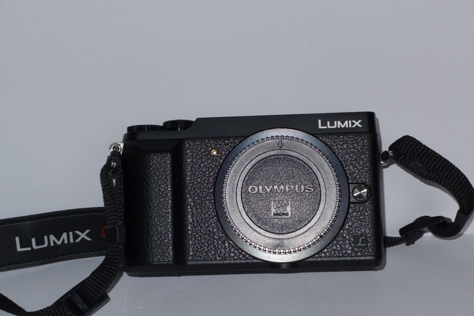 Panasonic LUMIX GX80 16.0MP Digitalkamera - Schwarz neuwertig ohne Objektive