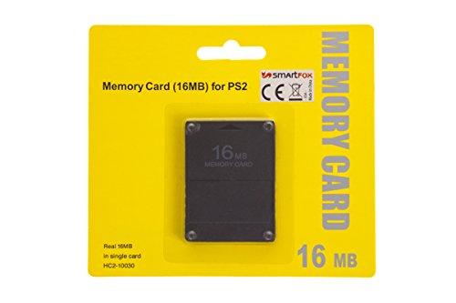 Smartfox 16 MB Speicherkarte Memory Card für Sony Playstation 2 PS2 und PS2 Slim