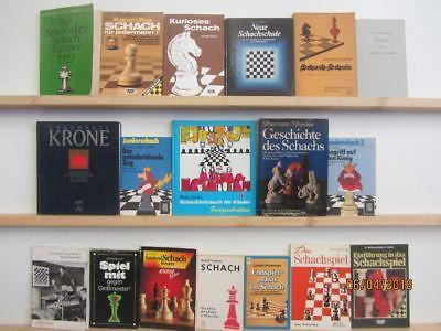 36 Bücher Schach Schachspielen Schachstrategien Schachturnier Schachschule