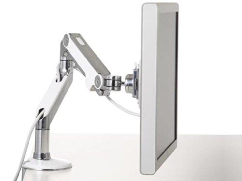 Humanscale M8CW1S Monitorhalterung, Metall, weiß, 680 x 140 x 520 cm