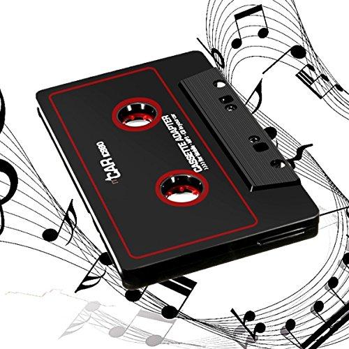 Kassettenadapter KFZ Radio-Adapter Tvird Kassetten mit 3,5 mm Klinkenstecker Car audio cassette adapter für iPod/iPhone/MP3/MP4/Handys/Smartphones/Tablet-PCsr/CD-Player