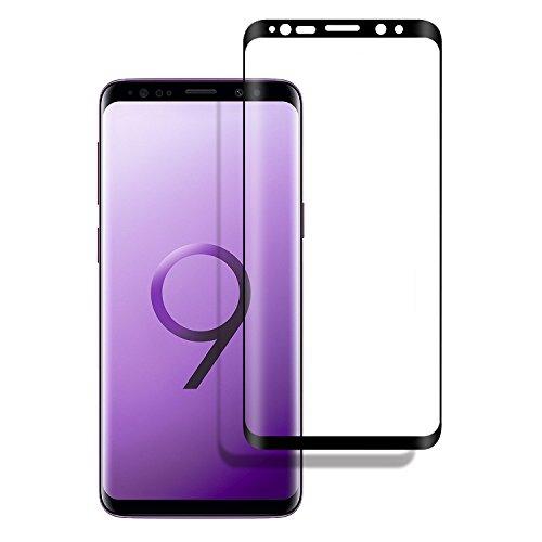 Panzerglas Schutzfolie für Samsung Galaxy S9 Full Screen,DOSMUNG Panzerglasfolie für Samsung S9-3D Vollständige Abdeckung,Schutz vor Öl,Wasser und Kratzer-Displayschutzfolie für Samsung Galaxy S9