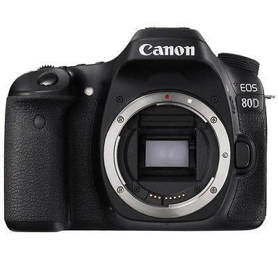 Neu Canon EOS 80D DSLR-Kamera Gehäuse (Kit-Box) - Neu