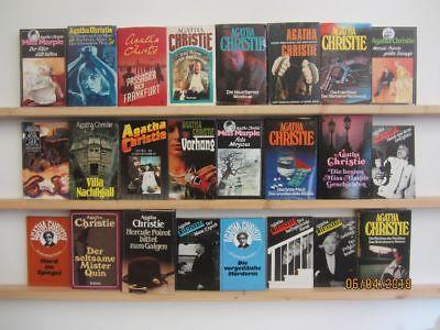 Agatha Christie 32 Romane Krimi Kriminalromane in 24 Büchern