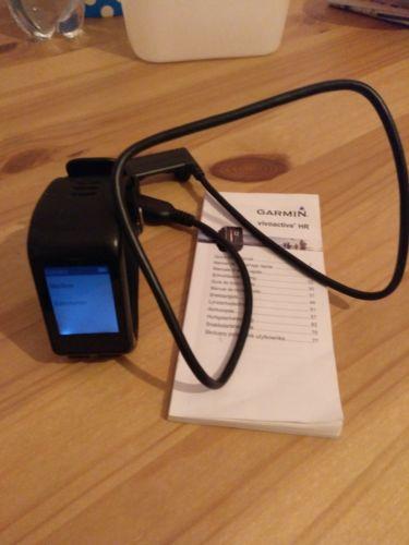 Garmin vivoactive HR Sport, GPS-Smartwatch, Bluetooth , Garantie bis  11/2018