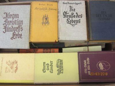 54 Bücher antiquarische Bücher Paket 1