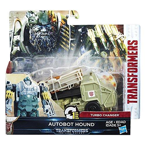 Hasbro Transformers C1314ES0 - Movie 5 Turbo Changer Autobot Hound, Actionfigur