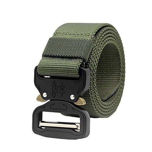 MOLLE Taktischer Gürtel Militärische Stil-Rigger Schnellverschluss Metal Schnalle Armee Rigger Waistbelt (Army Green)