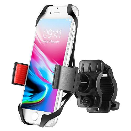 Handyhalterung Fahrrad Ipow Fahrradhalterung Handyhalterung Motorrad Halter 3 Fächer Sicherheitschutz für Smartphones und GPS