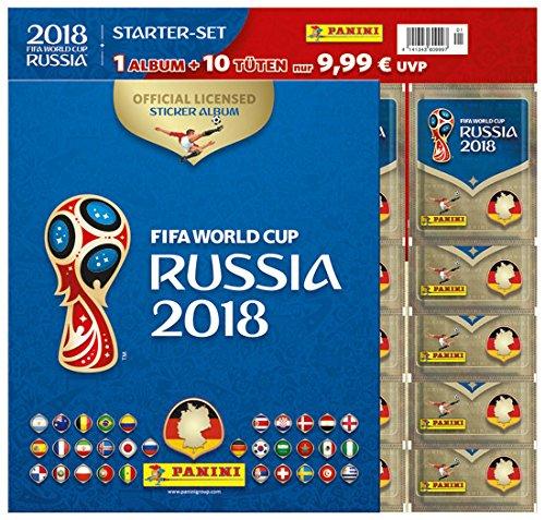 Panini 003497SPD2 Fußballer, Fußballspieler, Menschen, Sportler Fifa World Cup Russia 2018 - Starter Fußballsticker