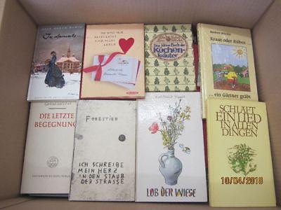 110 Bücher dünne gebundene Bücher Romane Sachbücher Erzählungen Novellen u.a.