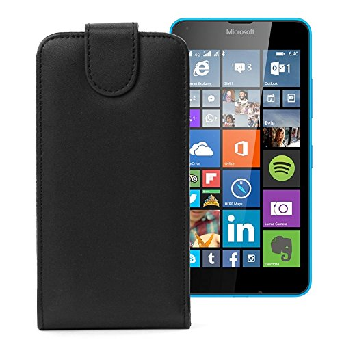 Flip Cover für Microsoft Lumia 640 Tasche Case Schutzhülle