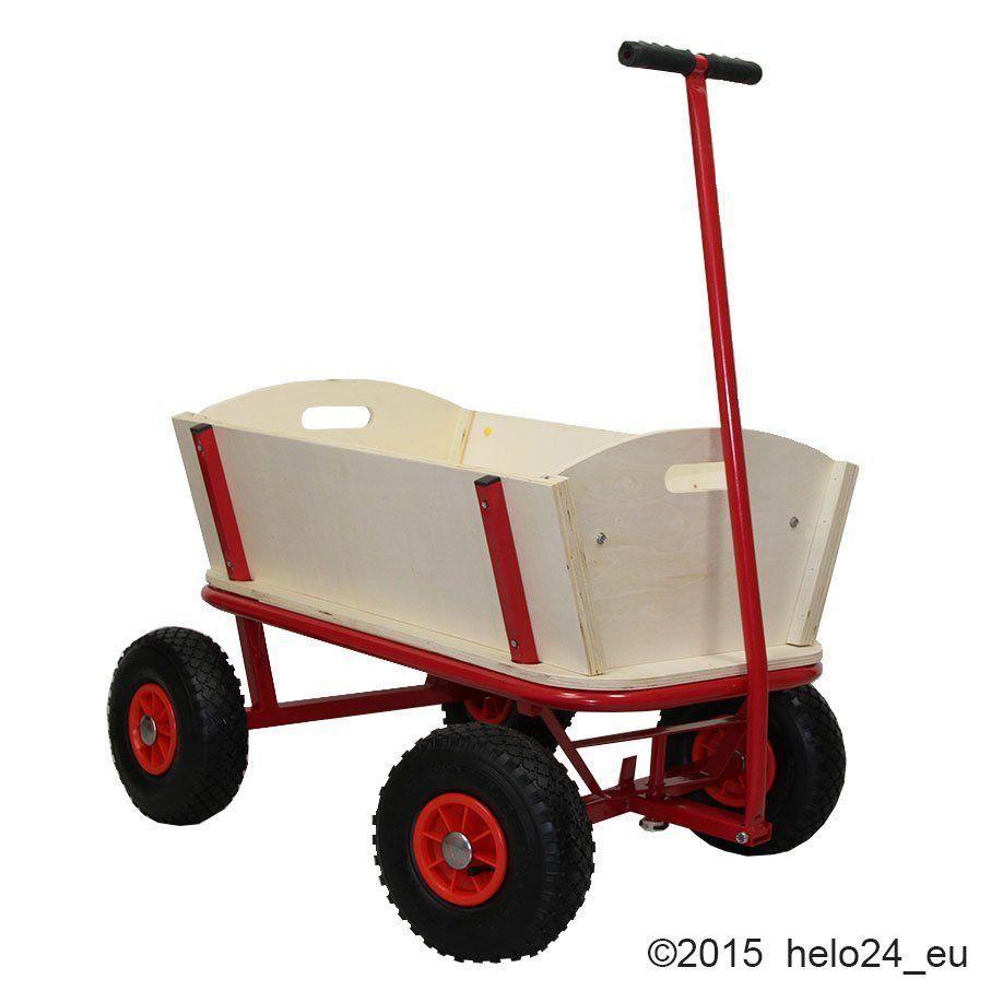 Bollerwagen Handwagen Gerätewagen Transportwagen ohne Plane NEU OVP