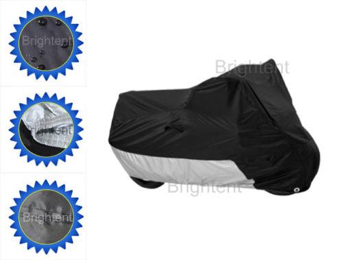 Neu Motorrad Abdeckung Urban Sport Roller Abdeckplane Faltgarage UV-Schutz RM1BS