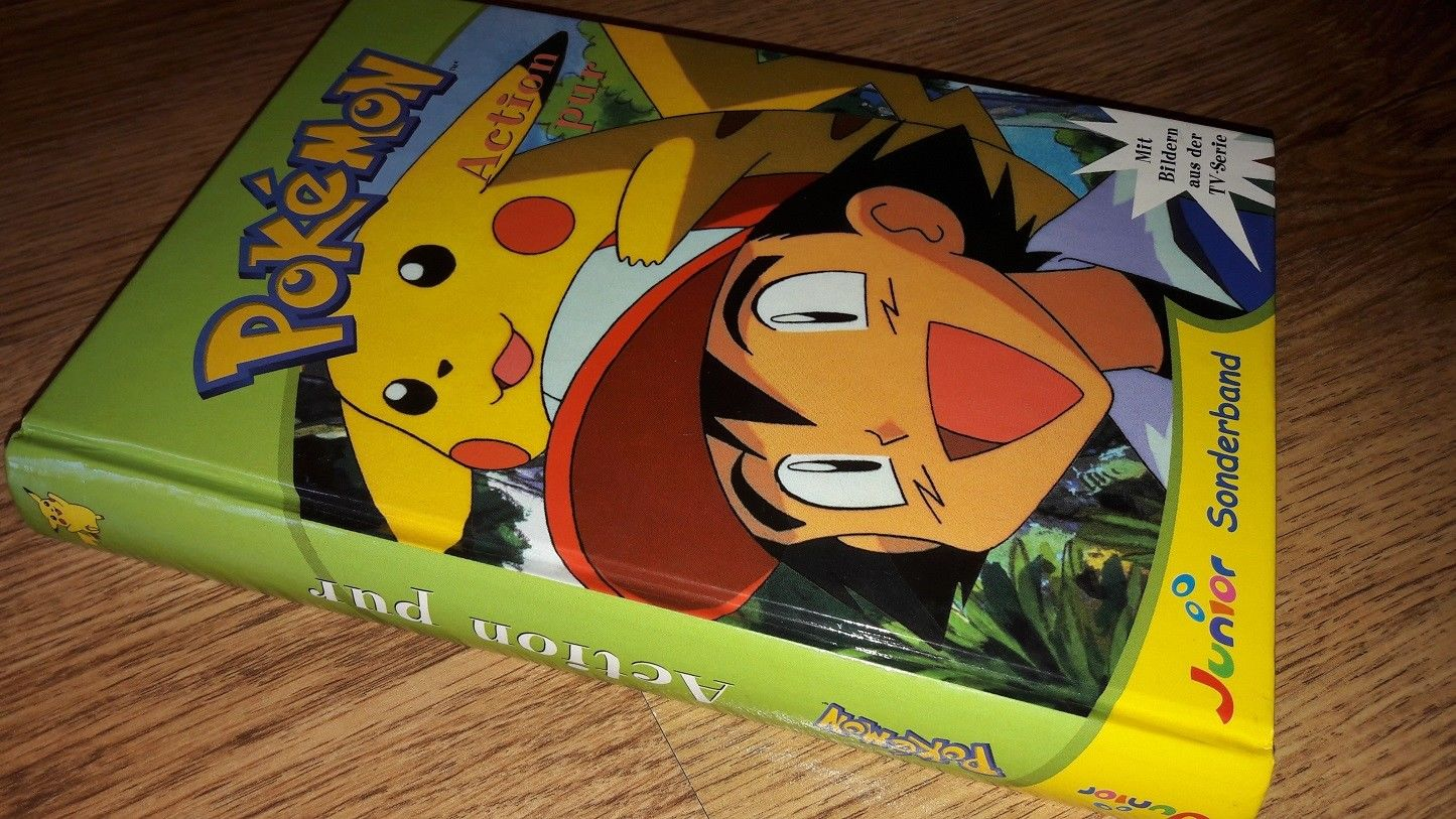 Pokemon Buch junior Sonderband Action pur