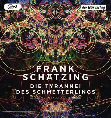 Die Tyrannei des Schmetterlings - Frank Schätzing MP3-CDs WIE NEU - HÖRBUCH 2018