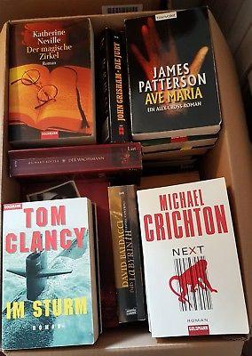 Krimi Thriller - 53 Bücher - Buchpaket Bücherpaket Buchsammlung