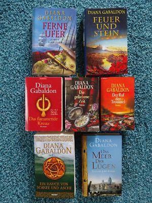 7 x Diana Gabaldon Bücher historische Romane: Highland Saga 1-6 + Meer der Lügen