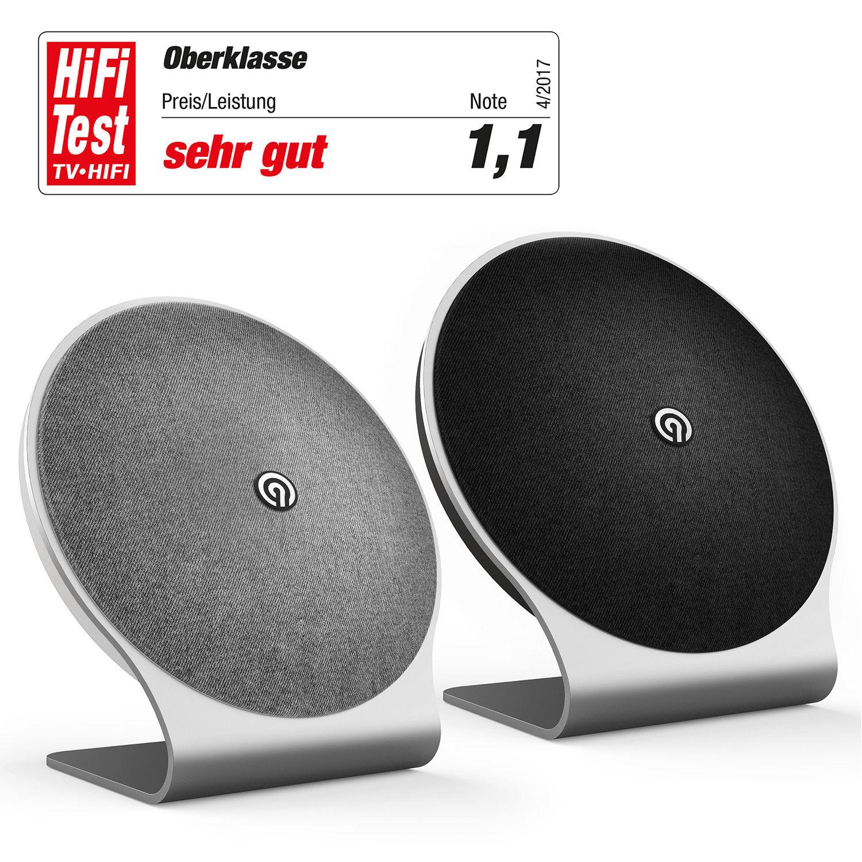 NINETEC Kosmo 60 Watt Bluetooth NFC Speaker Premium Design Home Lautsprecher