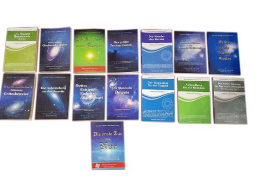 Risale-i Nur Bediüzzaman Said Nursi Bestseller SET islamische Bücher Übersetzung
