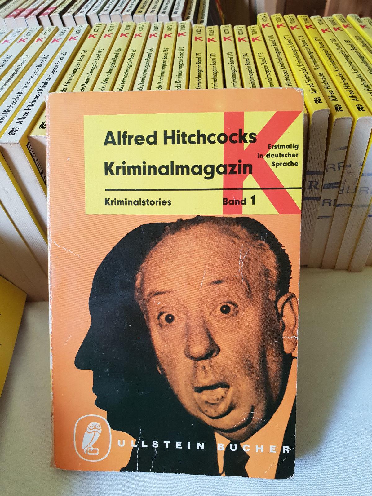 Ullstein Verlag - Alfred Hitchcock´s Kriminalmagazin 188 Stück