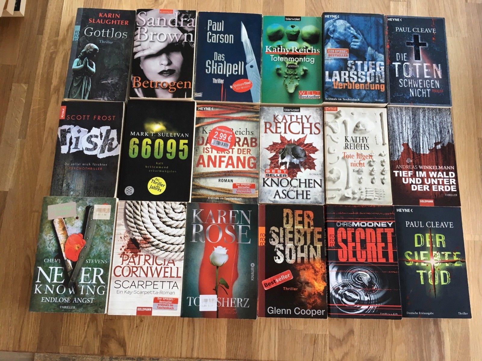 Bücherpaket Thriller / Belletristik