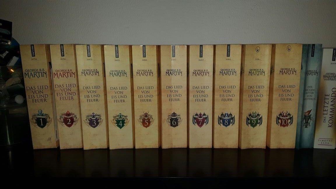 Das Lied von Eis und Feuer+ HeckenRitter von Westeros