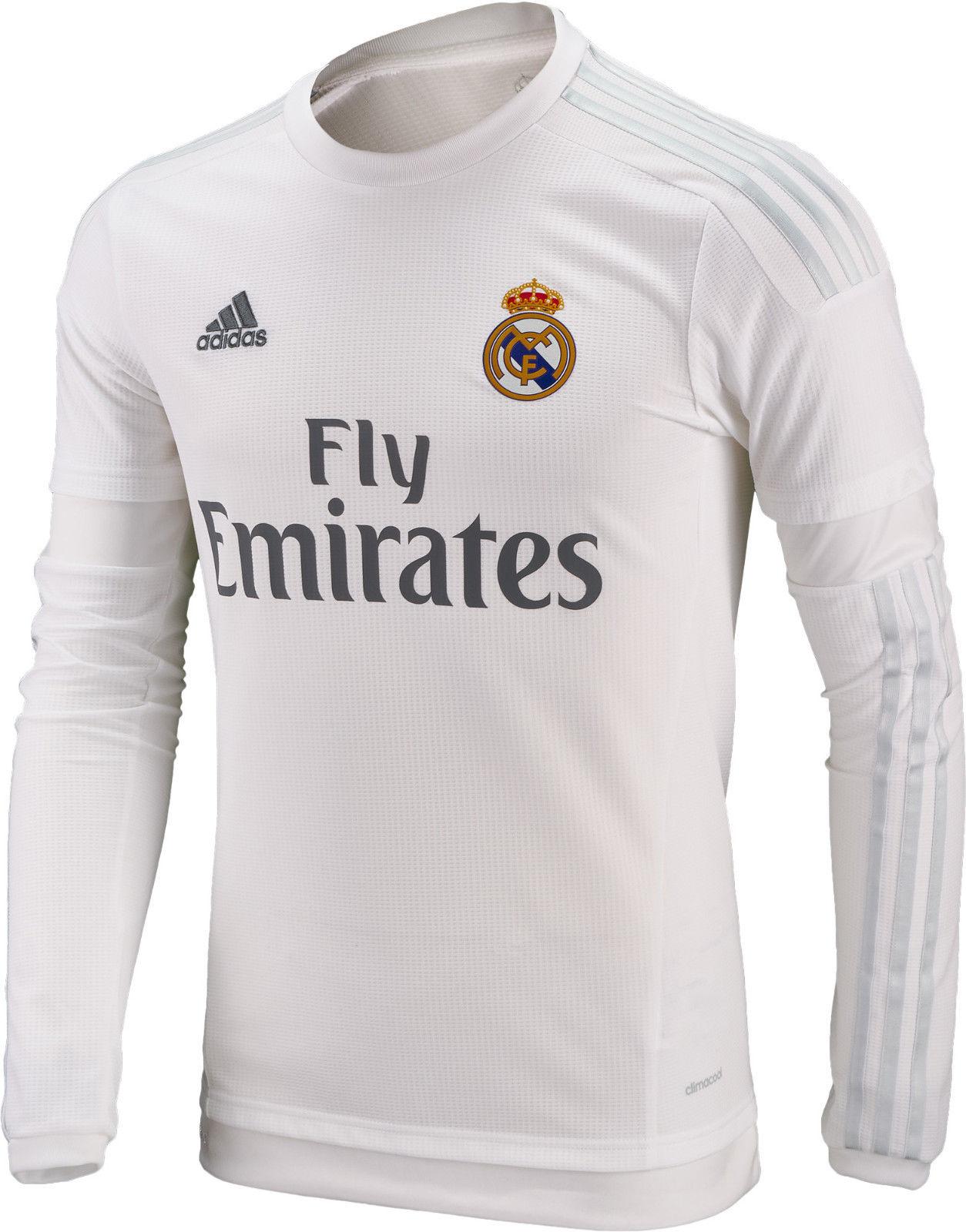 Real Madrid Trikot Größe XS S M L XL XXXL Ronaldo Kroos Sergio Ramos Beflockung