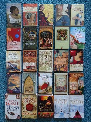 Paket 25 historische Bücher Romane: Geiges Gable Ebert Stachniak Gabaldon Dübell