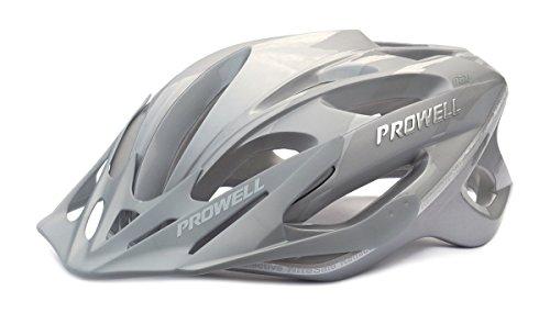 Prowell F59 Edge Fahrradhelm Silber. Gr. L (59-65 cm)