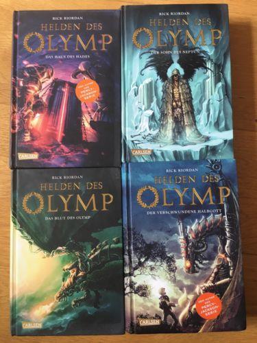 HELDEN DES OLYMP (vom Autor der PERCY JACKSON Serie) Rick Riordan 4 Bücher