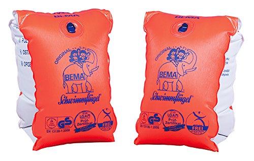 Bema 18002 - Happy People, Schwimmflügel Größe 1, orange (6-12jahre)