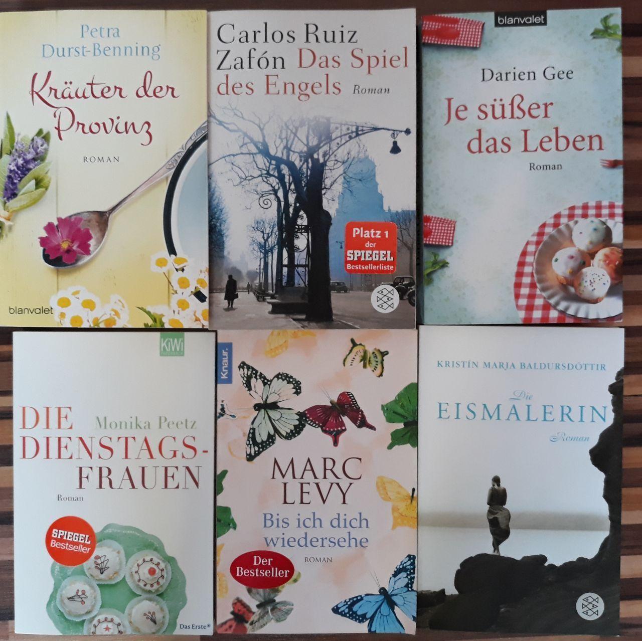 Bücher-Sammlung , Paket , Frauenromane