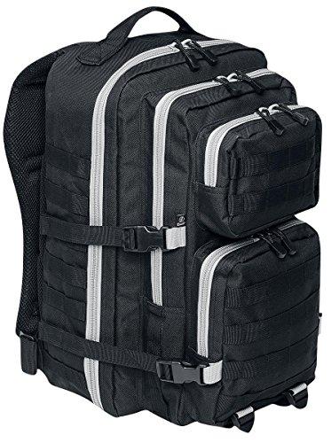 Brandit US Cooper Large Rucksack schwarz/grau