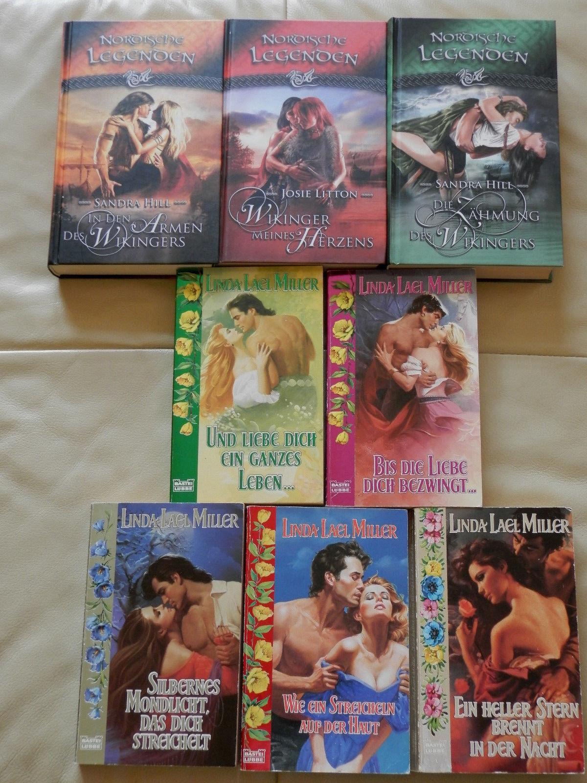 Historische Liebesromane - Paket mit 22 Büchern