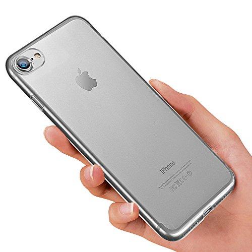 iPhone 8 Schutzhülle, iPhone 7 Silikon Hülle, innislink Weiche TPU Handyhülle Ultra Dünn iPhone 8/iPhone 7 Bumper Case Kratzfest Stoßfesten Schlank Case Cover für iPhone8/iPhone7 Hülle - Transparent