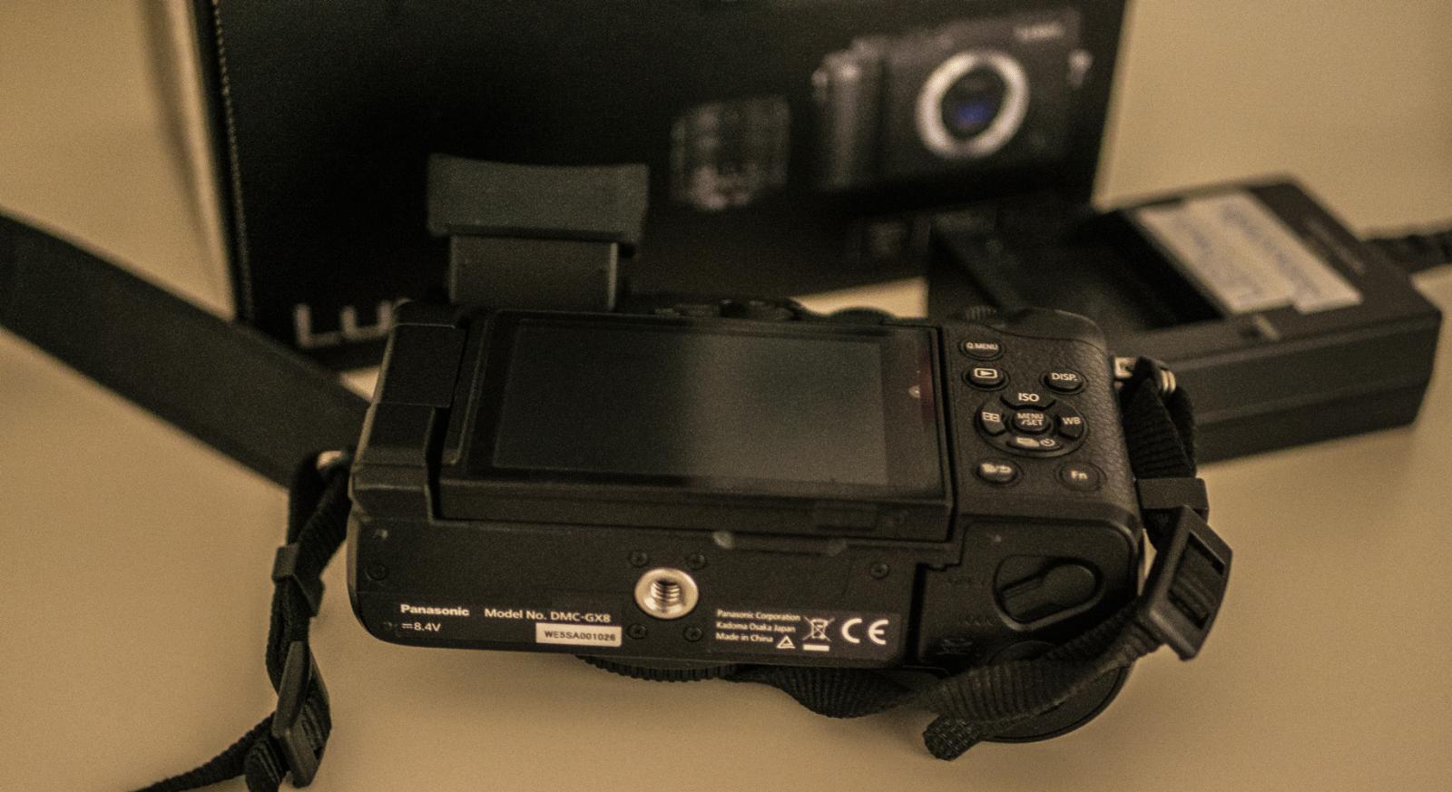 Panasonic Lumix GX8 - wie neu Nur Gehäuse
