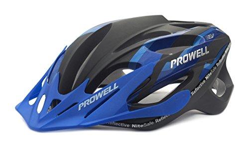 Prowell F59 Edge Fahrradhelm Blau / Schwarz. Gr. M (55-61 cm)