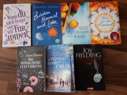 *Bücherpaket - 7 Frauen- bzw. Liebesromane*
