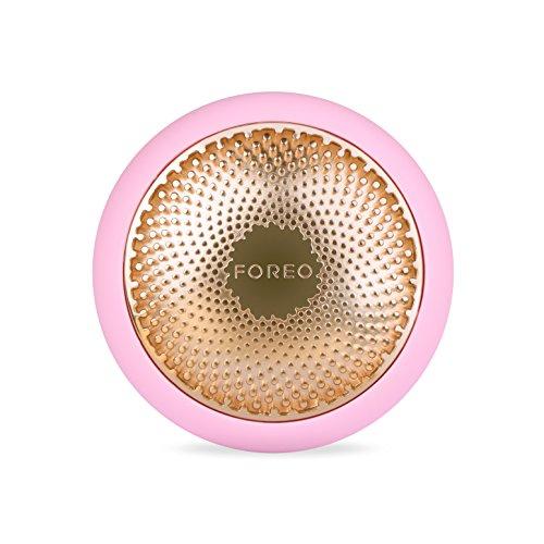 FOREO F3845 UFO intelligentes Gesichtsbehandlungsgerät in eine erweiterte Gesichtsmaskenbehandlung mit Thermo/Cryo/LED Lichttherapie