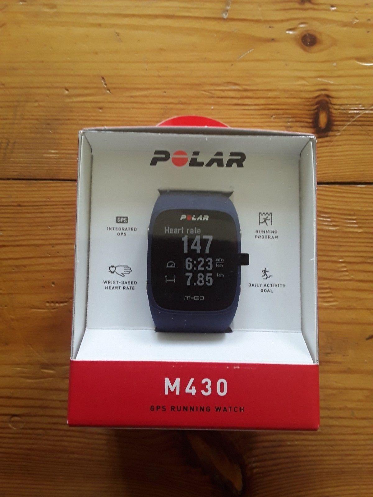 Polar M430 GPS Running Watch/Uhr Fitnessuhr NEU