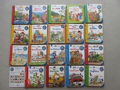 WWW Kinderbuch ? Wieso? Weshalb? Warum? ? 19 Bücher RAVENSBURGER junior Bücher