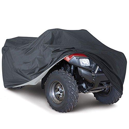 Universal Alle Wetter ATV, wasserdicht Staub Sun Wind Proof Outdoor UV-Bezug, strapazierfähigem Quad ATV Aufbewahrung Schutz für Honda Polaris Yamaha Suzuki