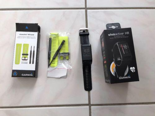 Garmin Vivoactive HR GPS Tracker Sportuhr