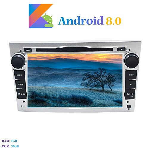 Android 8.0 Car Autoradio, Hi-azul In-dash 7