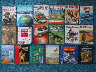 Paket 38 Kinderbücher Kinder Bücher Sachbücher WAS IST WAS Brockhaus Quiz Spiele