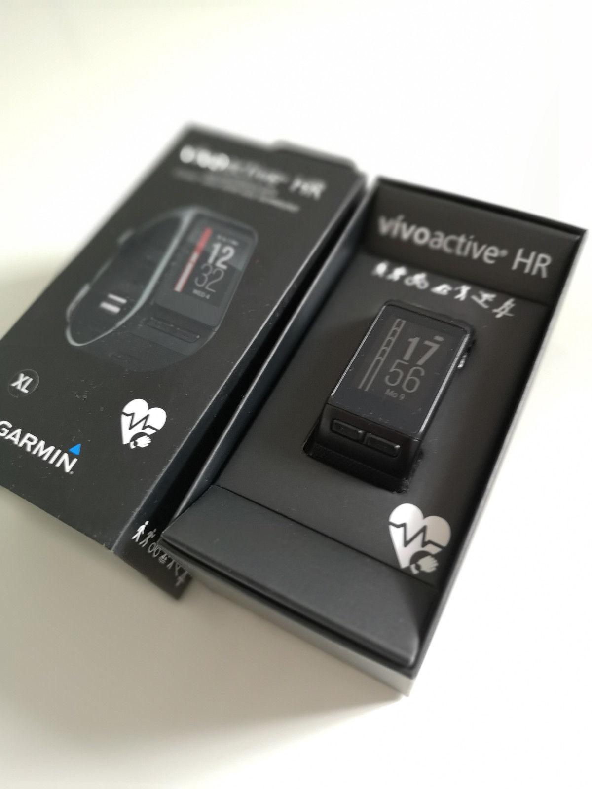Garmin Vivoactive HR XL Fitness Tracker Smartwatch GPS Sport Uhr wie neu
