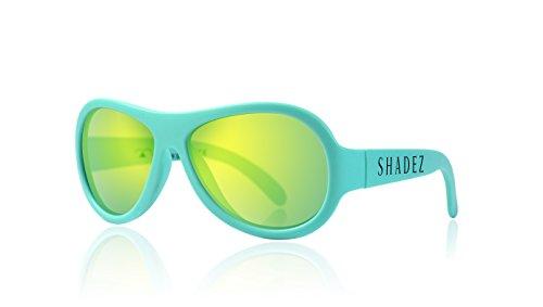 shadez Trendy Sonnenbrille Unisex Kinder, türkis