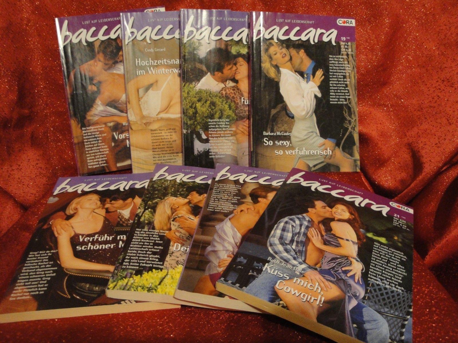 8 baccara - Romane * Lust auf Leidenschaft * Romanhefte von CORA * Paket 1*