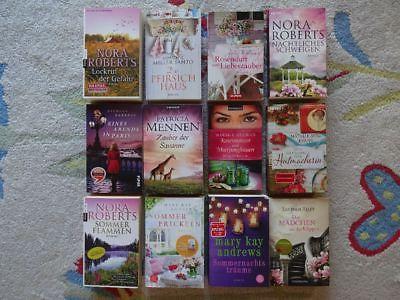 Bücher Paket 12 Romane für Frauen Liebe Romantik: Andrews Riley Roberts Evans